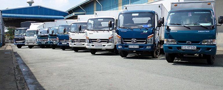 Chành xe gửi hàng Xuyên Mộc đi Sài Gòn